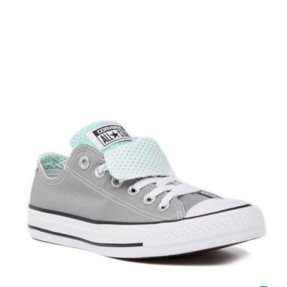 3338e9eb3cce Converse Shoes - Converse •Chuck Taylor Double Tongue Low Top Sz6.5